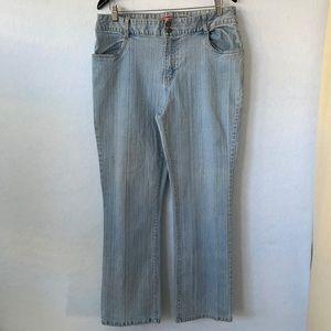 Bill Blass Ultra Fit Stretch Straight Leg Jeans